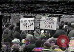 Image of protest meeting Harrisburg Pennsylvania USA, 1979, second 1 stock footage video 65675047060