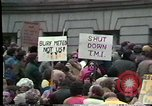 Image of protest meeting Harrisburg Pennsylvania USA, 1979, second 2 stock footage video 65675047060