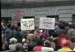 Image of protest meeting Harrisburg Pennsylvania USA, 1979, second 4 stock footage video 65675047060