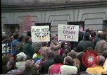 Image of protest meeting Harrisburg Pennsylvania USA, 1979, second 5 stock footage video 65675047060