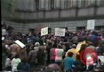 Image of protest meeting Harrisburg Pennsylvania USA, 1979, second 6 stock footage video 65675047060