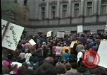 Image of protest meeting Harrisburg Pennsylvania USA, 1979, second 7 stock footage video 65675047060