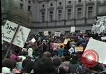 Image of protest meeting Harrisburg Pennsylvania USA, 1979, second 8 stock footage video 65675047060