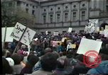 Image of protest meeting Harrisburg Pennsylvania USA, 1979, second 9 stock footage video 65675047060