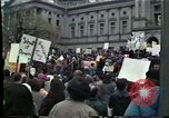 Image of protest meeting Harrisburg Pennsylvania USA, 1979, second 11 stock footage video 65675047060