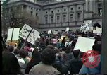 Image of protest meeting Harrisburg Pennsylvania USA, 1979, second 12 stock footage video 65675047060