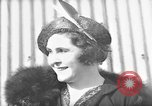 Image of Lady Hay Drummond-Hay comments on Hindenburg flight Lakehurst New Jersey USA, 1936, second 1 stock footage video 65675047076