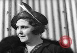 Image of Lady Hay Drummond-Hay comments on Hindenburg flight Lakehurst New Jersey USA, 1936, second 4 stock footage video 65675047076