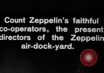 Image of Directors of Zeppelin Air Dock Yard Germany, 1908, second 2 stock footage video 65675047088