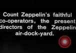 Image of Directors of Zeppelin Air Dock Yard Germany, 1908, second 3 stock footage video 65675047088