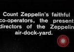 Image of Directors of Zeppelin Air Dock Yard Germany, 1908, second 4 stock footage video 65675047088
