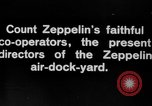 Image of Directors of Zeppelin Air Dock Yard Germany, 1908, second 6 stock footage video 65675047088