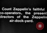 Image of Directors of Zeppelin Air Dock Yard Germany, 1908, second 7 stock footage video 65675047088