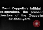 Image of Directors of Zeppelin Air Dock Yard Germany, 1908, second 9 stock footage video 65675047088