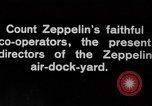 Image of Directors of Zeppelin Air Dock Yard Germany, 1908, second 10 stock footage video 65675047088