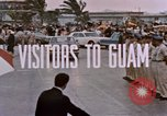 Image of Lyndon Baines Johnson Guam, 1967, second 4 stock footage video 65675047095