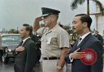 Image of presentation ceremony Guam, 1967, second 7 stock footage video 65675047096