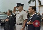 Image of presentation ceremony Guam, 1967, second 9 stock footage video 65675047096