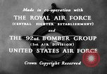 Image of B-29 Superfortress in depth details United Kingdom, 1945, second 12 stock footage video 65675047106