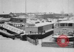 Image of Ships frozen at docks Siberia Russia, 1918, second 2 stock footage video 65675047150