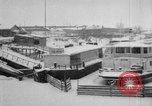 Image of Ships frozen at docks Siberia Russia, 1918, second 3 stock footage video 65675047150