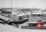 Image of Ships frozen at docks Siberia Russia, 1918, second 4 stock footage video 65675047150