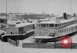 Image of Ships frozen at docks Siberia Russia, 1918, second 7 stock footage video 65675047150