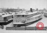Image of Ships frozen at docks Siberia Russia, 1918, second 10 stock footage video 65675047150