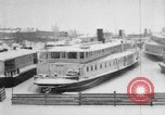 Image of Ships frozen at docks Siberia Russia, 1918, second 11 stock footage video 65675047150