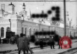 Image of Russian military and civilians in Siberia in World War 1 Siberia Russia, 1918, second 1 stock footage video 65675047152
