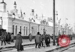 Image of Russian military and civilians in Siberia in World War 1 Siberia Russia, 1918, second 6 stock footage video 65675047152