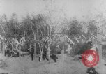Image of graves of Allied soldiers Russia, 1918, second 6 stock footage video 65675047168