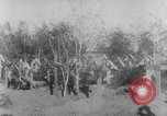 Image of graves of Allied soldiers Russia, 1918, second 7 stock footage video 65675047168