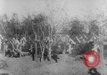 Image of graves of Allied soldiers Russia, 1918, second 11 stock footage video 65675047168
