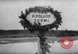 Image of German troops entering Finland Finland, 1941, second 8 stock footage video 65675047182