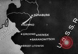 Image of German forces enter Latvia on Eastern Front Latvia, 1941, second 6 stock footage video 65675047185