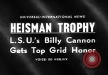 Image of Heisman Trophy New York United States USA, 1959, second 1 stock footage video 65675047255