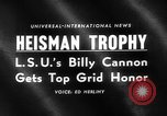 Image of Heisman Trophy New York United States USA, 1959, second 3 stock footage video 65675047255