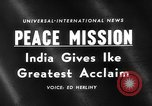 Image of Dwight D Eisenhower India, 1959, second 5 stock footage video 65675047256