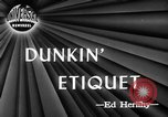 Image of Donut Dunking Week New York United States USA, 1946, second 3 stock footage video 65675047264