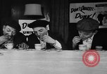 Image of Donut Dunking Week New York United States USA, 1946, second 9 stock footage video 65675047264