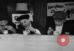 Image of Donut Dunking Week New York United States USA, 1946, second 11 stock footage video 65675047264