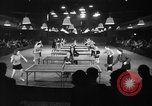Image of table tennis tournament New York City USA, 1946, second 2 stock footage video 65675047265