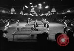 Image of table tennis tournament New York City USA, 1946, second 6 stock footage video 65675047265