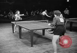 Image of table tennis tournament New York City USA, 1946, second 7 stock footage video 65675047265