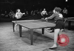 Image of table tennis tournament New York City USA, 1946, second 8 stock footage video 65675047265