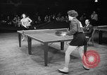 Image of table tennis tournament New York City USA, 1946, second 9 stock footage video 65675047265