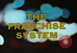 Image of franchise system United States USA, 1974, second 3 stock footage video 65675047267