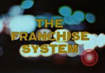 Image of franchise system United States USA, 1974, second 4 stock footage video 65675047267