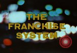 Image of franchise system United States USA, 1974, second 5 stock footage video 65675047267